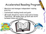 accelerated reading program