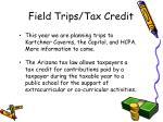 field trips tax credit