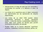ray casting cont1