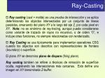 ray casting
