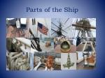 parts of the ship