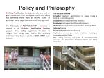 policy and philosophy