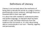 definitions of literacy