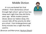 middle diction