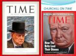 churchill on time