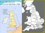 r a f air groups battle of britain 1940
