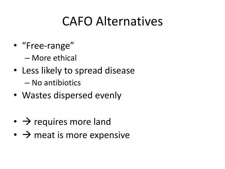 CAFO Alternatives