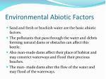 environmental abiotic factors