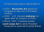 us neutrality before world war ii