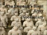 the emperor s silent army