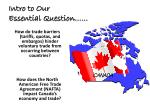 intro to our essential question