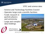 stfc and science data