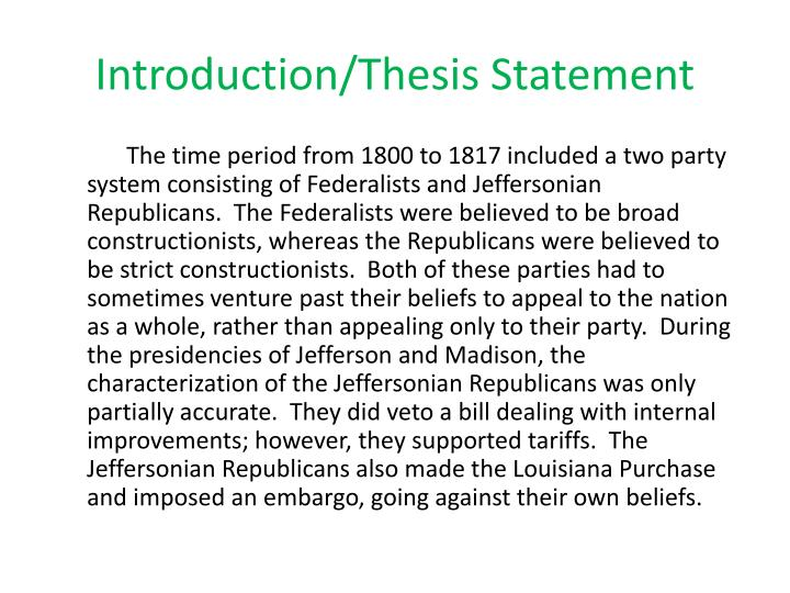 1998 ap us history dbq jefferson and madison Apush dbq rubric name:  larger story of the united states within this time period  dbq score letter grade 7 a 6 b 5 c 4 d 3 f.