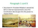 paragraph 1 cont d