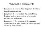 paragraph 1 documents