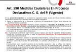 art 590 medidas cautelares en procesos declarativos c g del p vigente