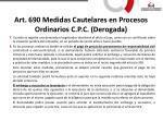 art 690 medidas cautelares en procesos ordinarios c p c derogada3