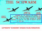 luftwaffe schwarm finger four formation
