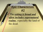 epic characteristic 2