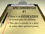 epic convention 1