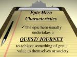 epic hero characteristics1