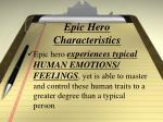 epic hero characteristics5