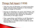 things fall apart 1958