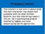 problem conflict