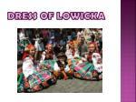 dress of lowicka