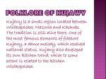 folklore of kujawy