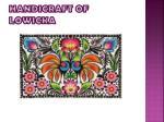 handicraft of lowicka