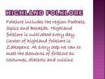 highland folklore