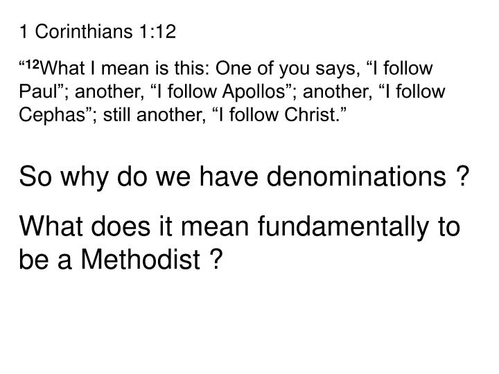 1 Corinthians 1:12