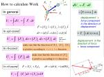 how to calculate work