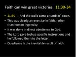 faith can win great victories 11 30 343