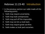 hebrews 11 23 40 introduction3