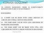 convex isoquant