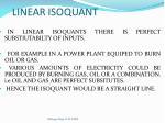 linear isoquant