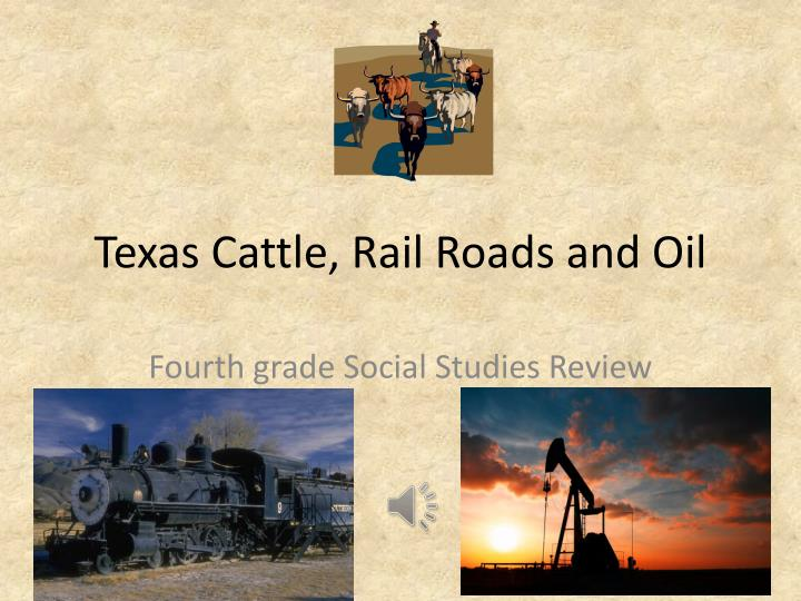 texas cattle rail roads and oil n.