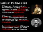 events of the revolution1