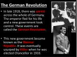 the german revolution