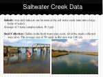 saltwater creek data