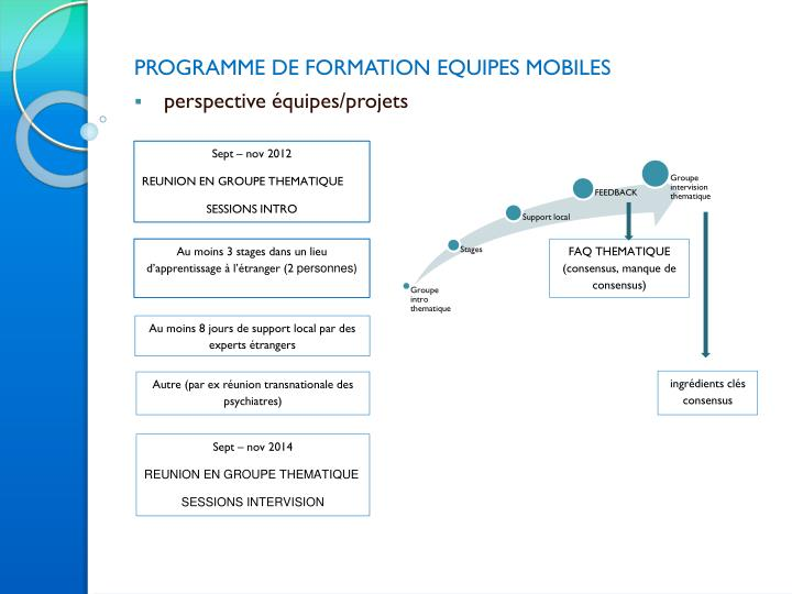 programme de formation equipes mobiles perspective quipes projets n.