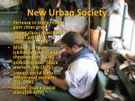 new urban society