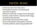 faktor resiko
