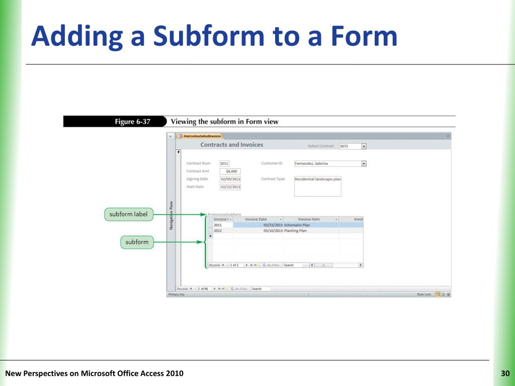 PPT - Tutorial 6 Using Form Tools and Creating Custom Forms