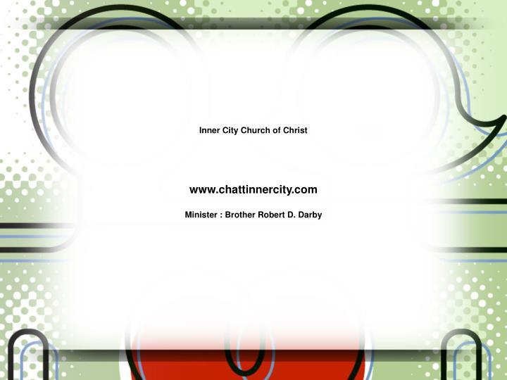 Inner City Church of Christ