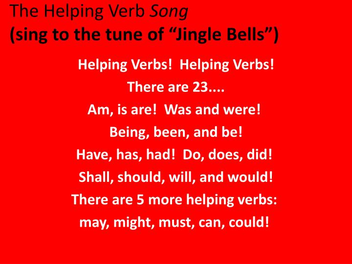 The Helping Verb Essaybot