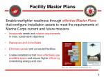 facility master plans