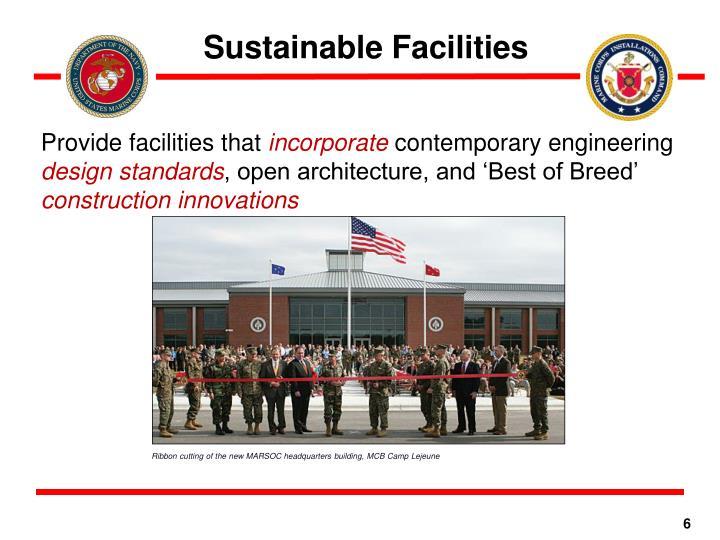 Sustainable Facilities